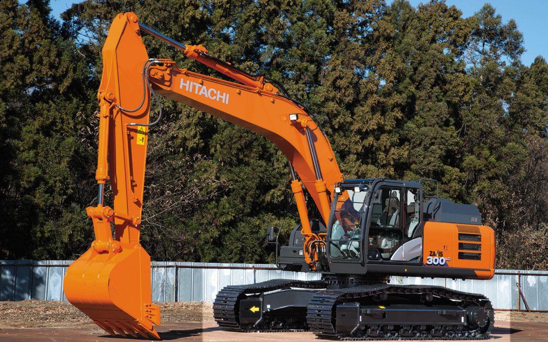 DIAL GROUP refuerza su parque de maquinara y adquiere dos excavadoras nuevas HITACHI 300 (30 Tn)